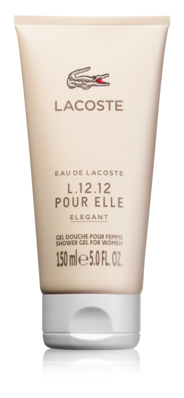 Lacoste Eau de Lacoste L.12.12 Pour Elle Elegant Shower Gel for Women 150 ml 42f4140782472