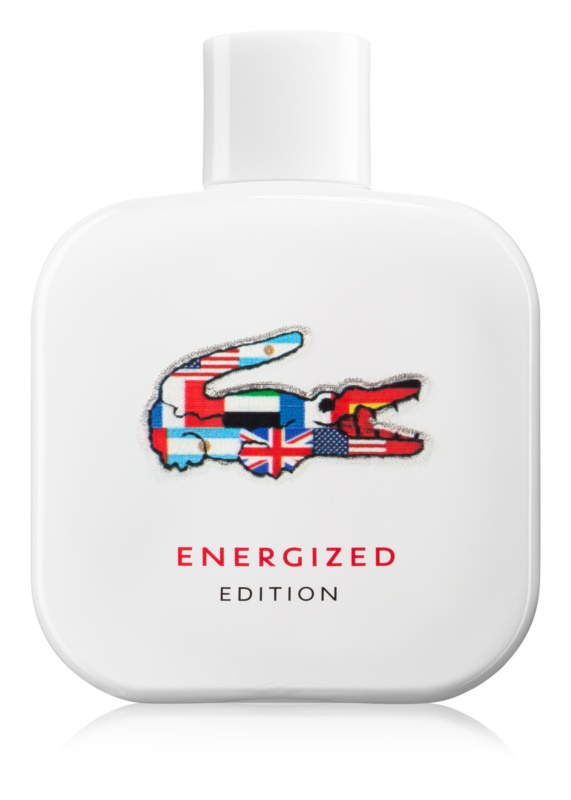 Lacoste Eau de Lacoste L.12.12 Energized Edition eau de toilette pentru barbati 100 ml