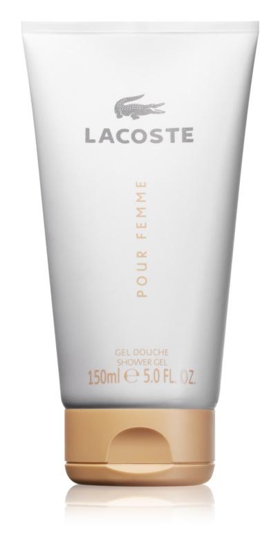 Lacoste Pour Femme Duschgel für Damen 150 ml