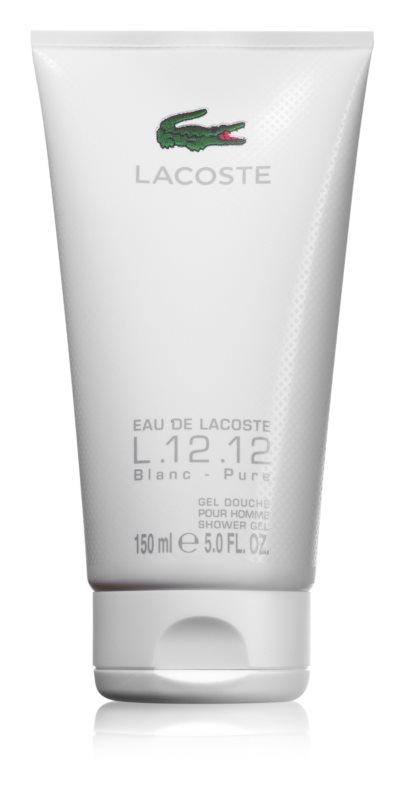 Lacoste Eau de Lacoste L.12.12 Blanc гель для душу для чоловіків 150 мл (без коробочки)