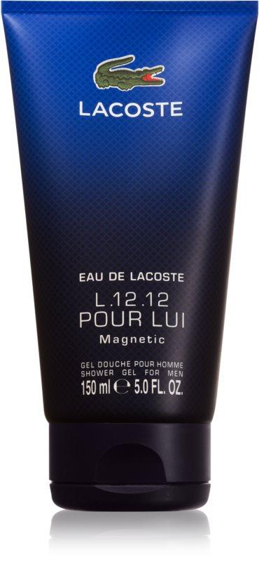 Lacoste Eau de L.12.12 Pour Homme Magnetic żel pod prysznic dla mężczyzn 150 ml
