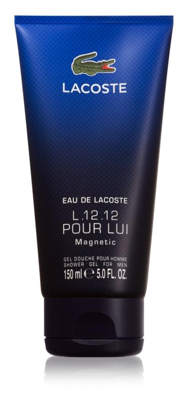 Lacoste Eau de Lacoste L.12.12 Magnetic sprchový gél pre mužov 150 ml