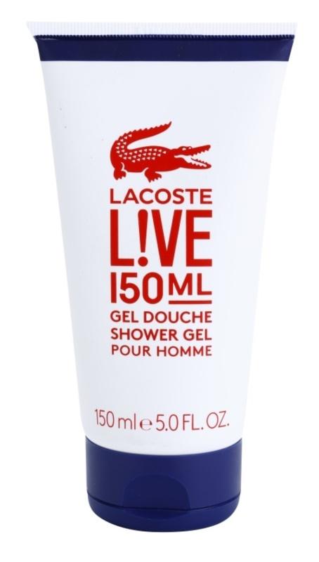 Lacoste Live tusfürdő férfiaknak 150 ml