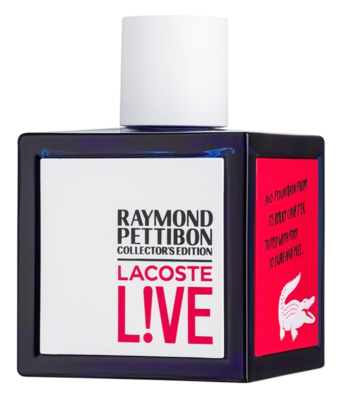 Lacoste Live Raymond Pettibon Collector's Edition Eau de Toilette for Men 100 ml
