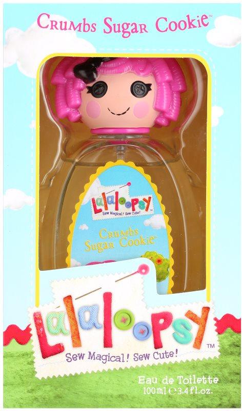 Lalaloopsy Crumbs Sugar Cookie Eau de Toilette für Kinder 100 ml