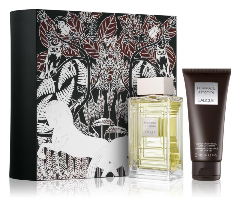 Lalique Hommage À L'Homme coffret cadeau II.