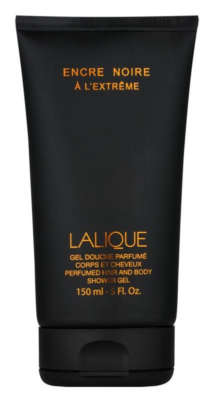 Lalique Encre Noire AL´Extreme sprchový gel pro muže 150 ml