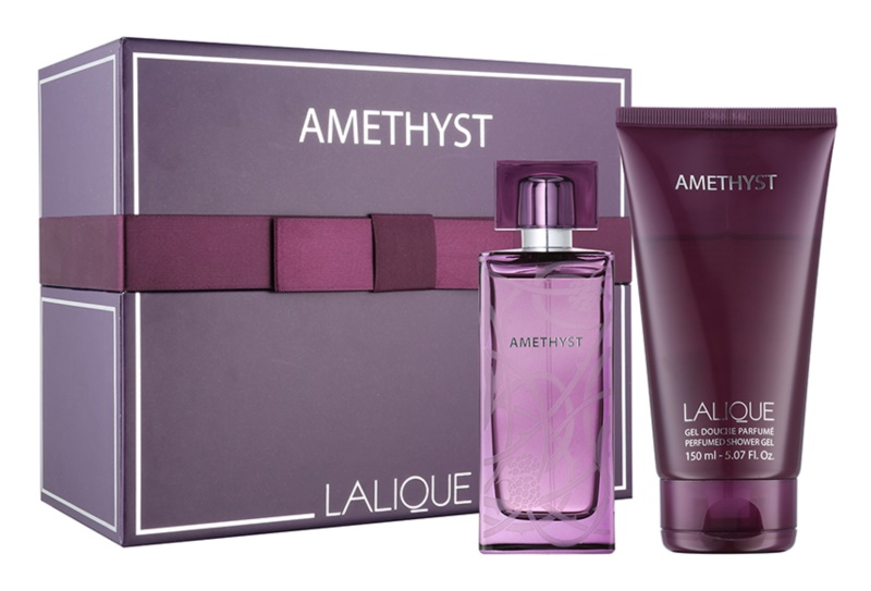 Lalique Amethyst σετ δώρου V.