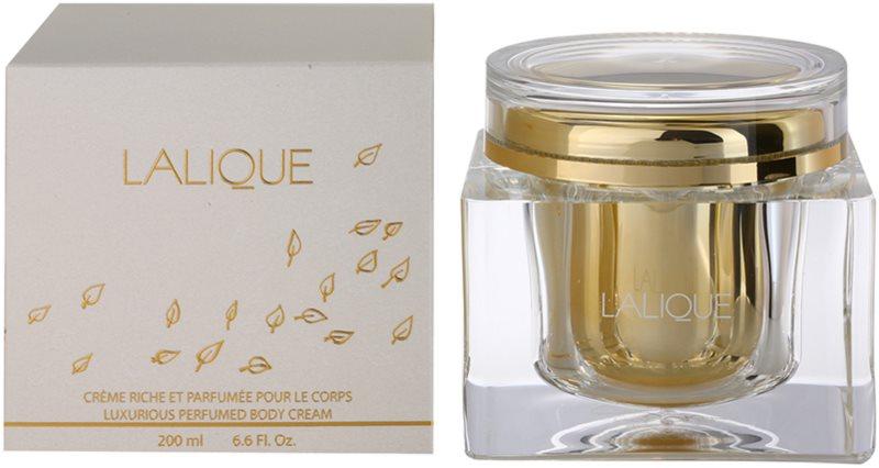 Lalique Lalique tělový krém pro ženy 200 ml