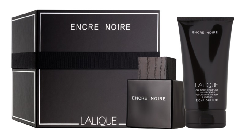 Lalique Encre Noire for Men darilni set