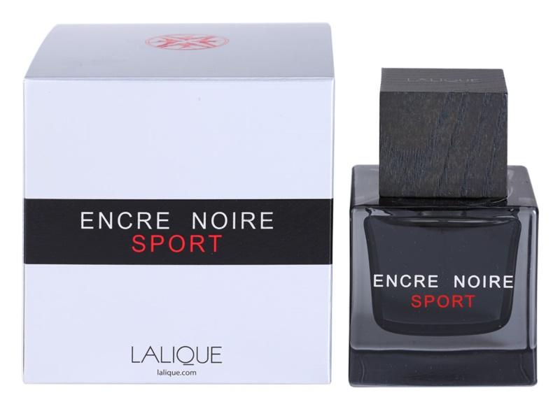 Lalique Encre Noire Sport Eau de Toilette für Herren 100 ml