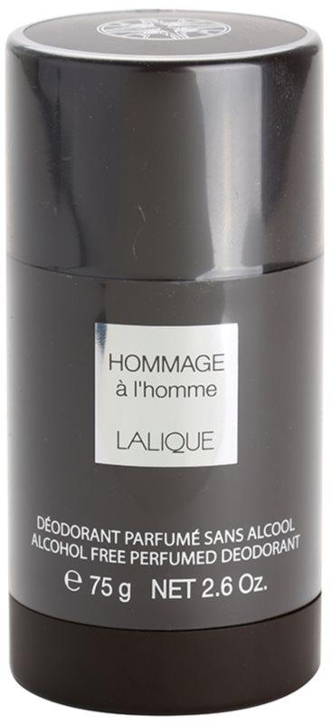 Lalique Hommage À L'Homme Deo-Stick für Herren 75 ml