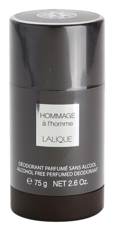 Lalique Hommage a L'Homme Deodorant Stick for Men 75 ml