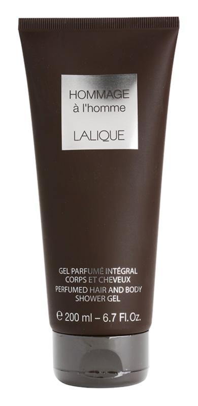 Lalique Hommage À L'Homme gel de dus pentru barbati 200 ml