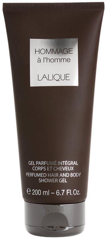 Lalique Hommage À L'Homme Shower Gel for Men 200 ml