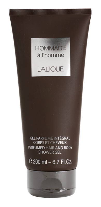 Lalique Hommage a L'Homme sprchový gél pre mužov 200 ml