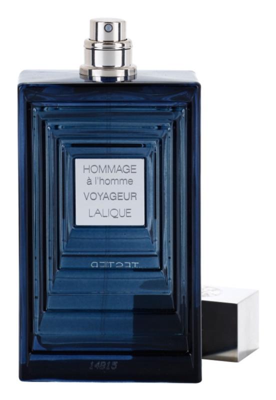 Lalique Hommage À L'Homme Voyageur eau de toilette teszter férfiaknak 100 ml