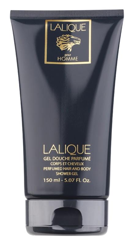 Lalique Pour Homme Lion sprchový gél pre mužov 150 ml