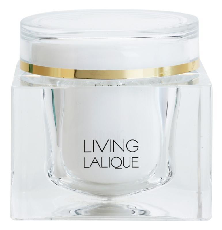 Lalique Living Lalique telový krém pre ženy 200 ml