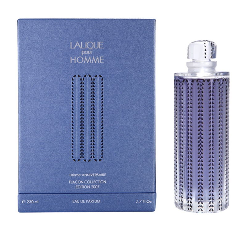 Lalique Pour Homme Faune 10éme Anniversaire Flacon Collection Edition 2007 Eau de Parfum für Herren 230 ml