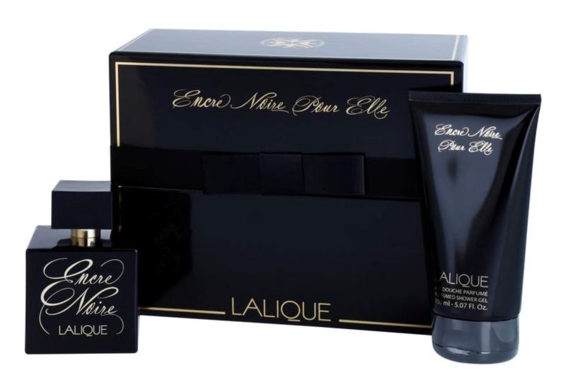 Lalique Encre Noire Pour Elle ajándékszett III.