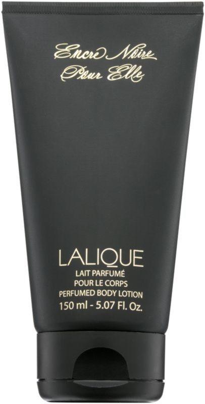Lalique Encre Noire Pour Elle tělové mléko pro ženy 150 ml
