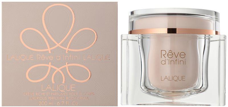 Lalique Rêve d'Infini telový krém pre ženy 200 ml