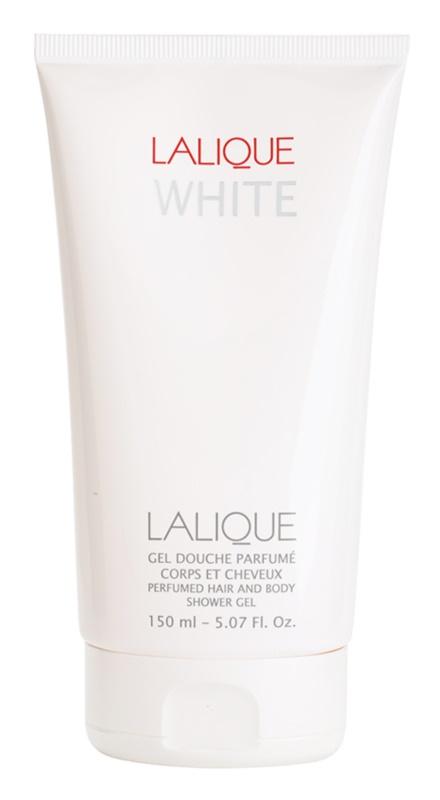 Lalique White gel de dus pentru barbati 150 ml