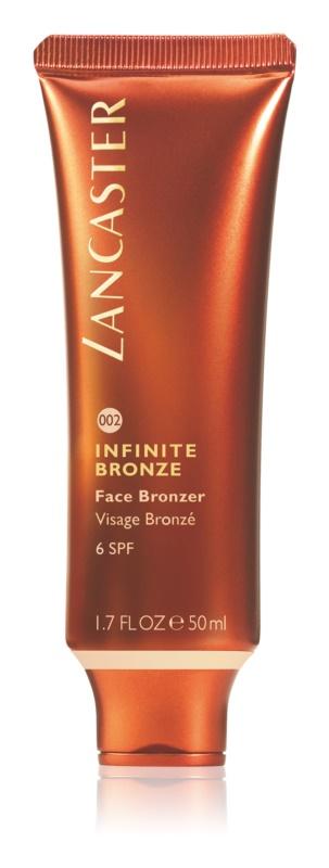 Lancaster Infinite Bronze бронзуючий гель для обличчя SPF 6