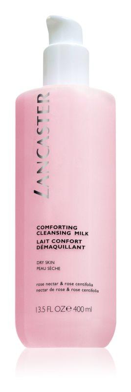 Lancaster Cleansers & Masks zklidňující čisticí mléko pro suchou pleť