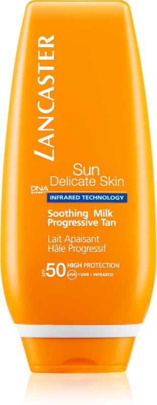 Lancaster Sun Delicate Skin crema abbronzante per pelli sensibili SPF 50