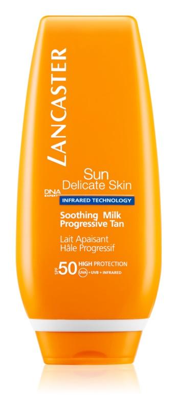 Lancaster Sun Delicate Skin Zonnebrandcrème voor Gevoelige Huid  SPF 50