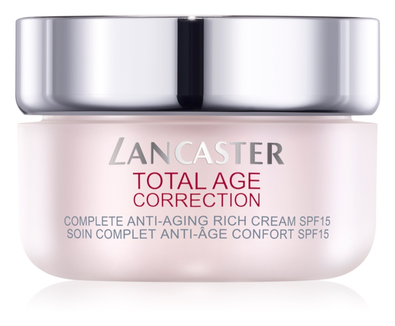 Lancaster Total Age Correction creme antirrugas nutritivo SPF 15
