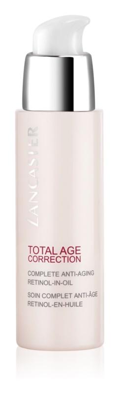 Lancaster Total Age Correction pleťový olej s retinolem
