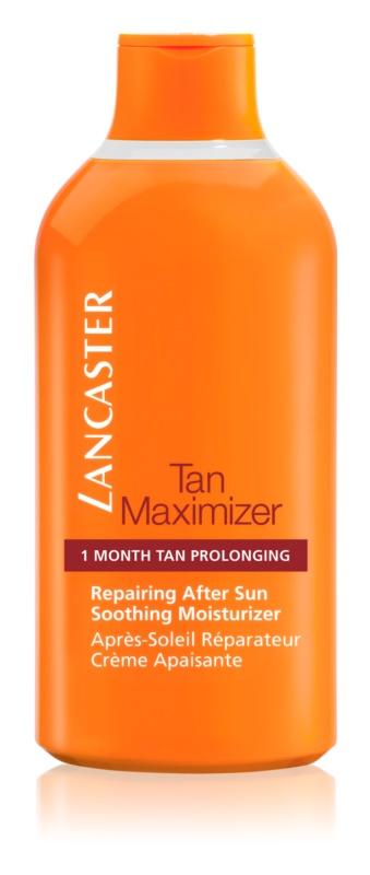 Lancaster Tan Maximizer crema lenitiva idratante per prolungare l'abbronzatura