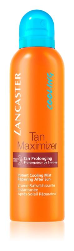 Lancaster Tan Maximizer охолоджуюча та освіжаюча емульсія засіб для засмаги