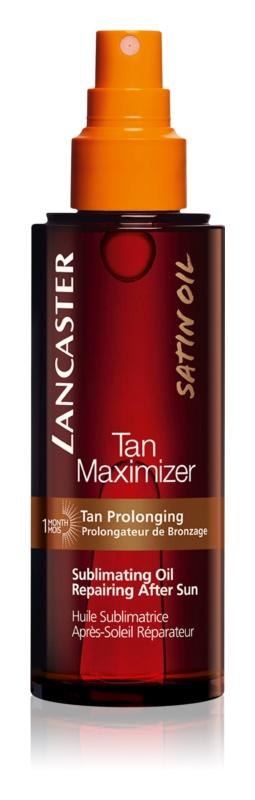 Lancaster Tan Maximizer huile sèche régénérante pour prolonger le bronzage