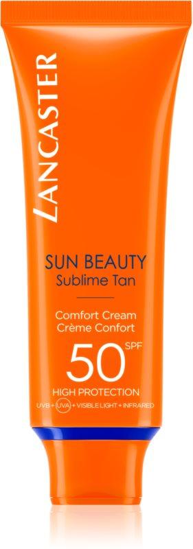 Lancaster Sun Beauty crema abbronzante viso SPF 50