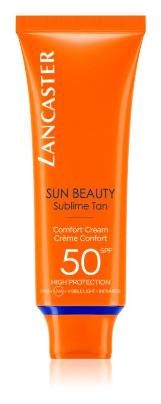 Lancaster Sun Beauty crema de soare pentru fata SPF50
