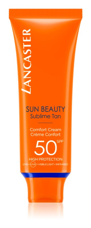 Lancaster Sun Beauty crème solaire visage SPF 50