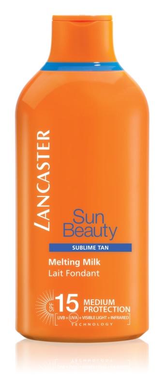 Lancaster Sun Beauty lotiune pentru bronzat SPF 15