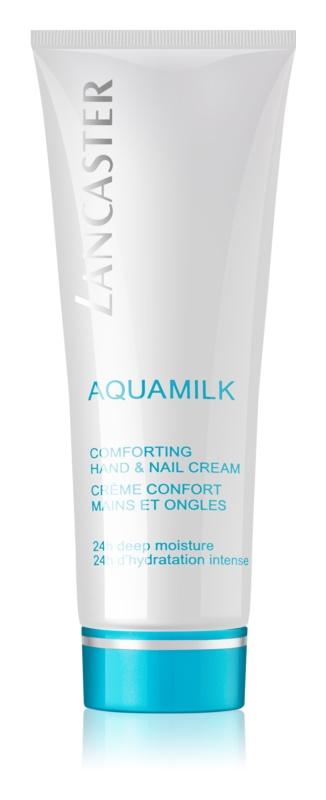 Lancaster Aquamilk výživný krém na ruky a nechty