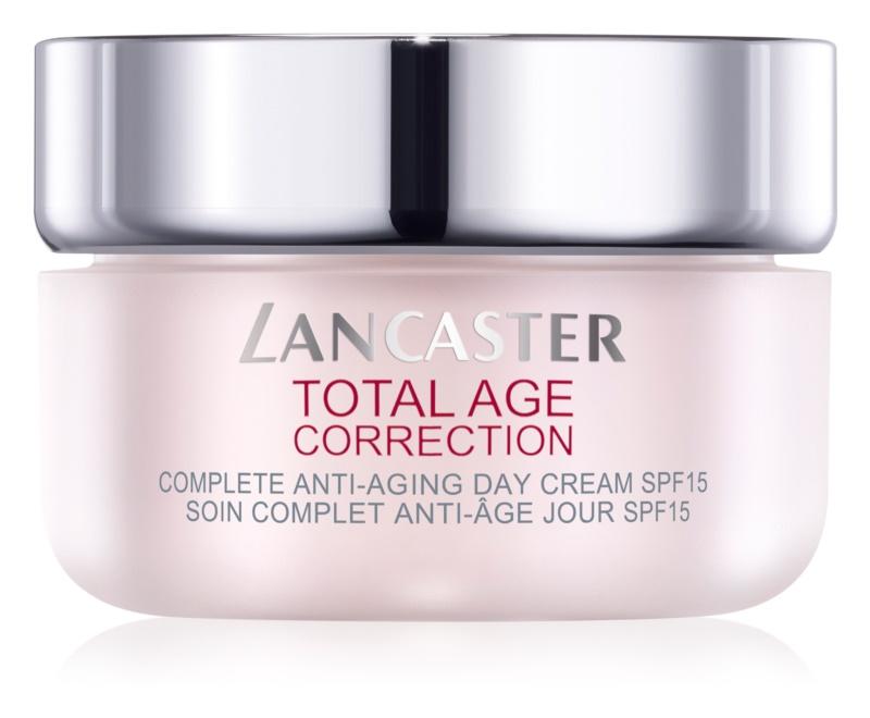 Lancaster Total Age Correction denní krém proti stárnutí pleti SPF 15