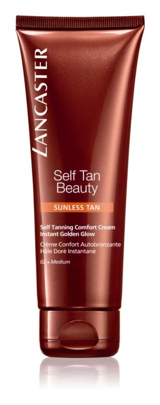 Lancaster Self Tan Beauty Comfortabel Zelfbruinings Crème voor Lichaam en Gezicht