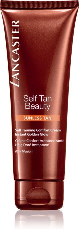 Lancaster Self Tan Beauty заспокійливий крем автозасмага для тіла та обличчя