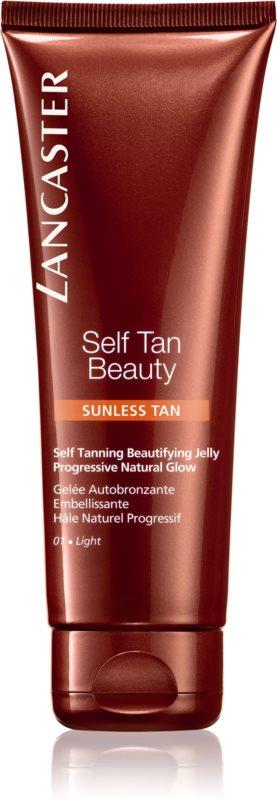 Lancaster Self Tan Beauty samoopalovací gel na tělo a obličej