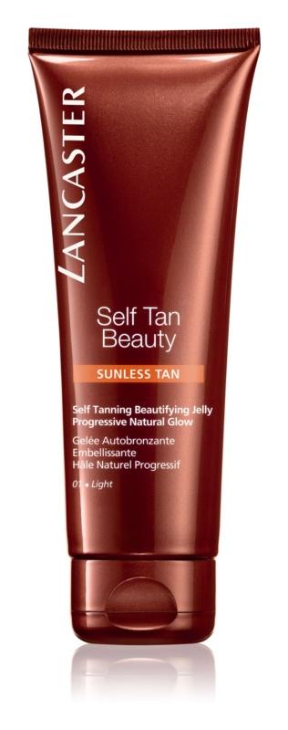 Lancaster Self Tan Beauty Zelfbruinende Gel voor Lichaam en Gezicht