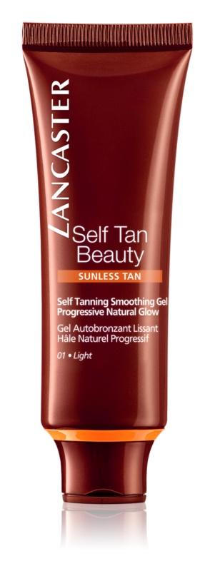 Lancaster Self Tan Beauty gel lisciante autoabbronzante per il viso
