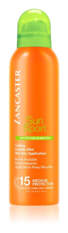 Lancaster Sun Sport opaľovacia chladivá hmla na telo SPF 15