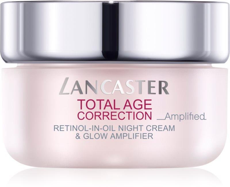 Lancaster Total Age Correction _Amplified nočný protivráskový krém pre rozjasnenie pleti